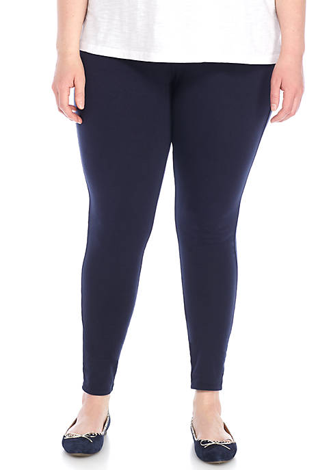 Crown & Ivy™ Plus Size Knit Leggings