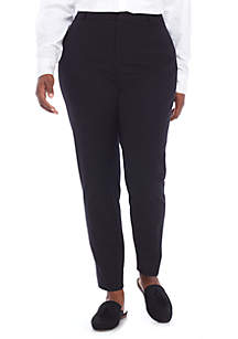Fly Front Bi-Stretch Pants