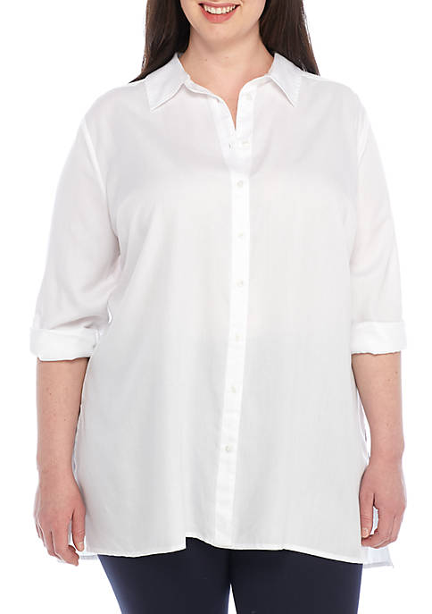 Crown & Ivy™ Plus Size Tunic