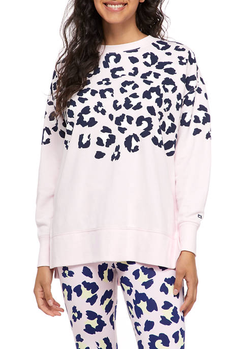 Cabana by Crown & Ivy™ Womens Sweeper Top