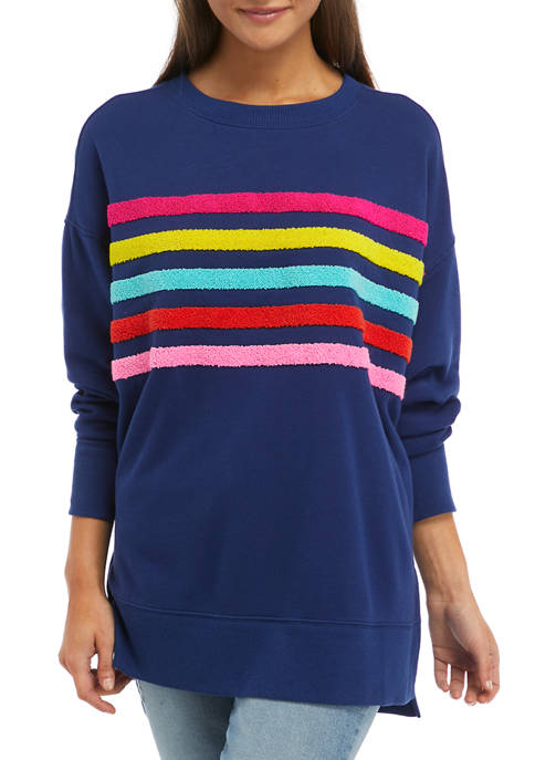 Cabana by Crown & Ivy™ Long Sleeve Striped
