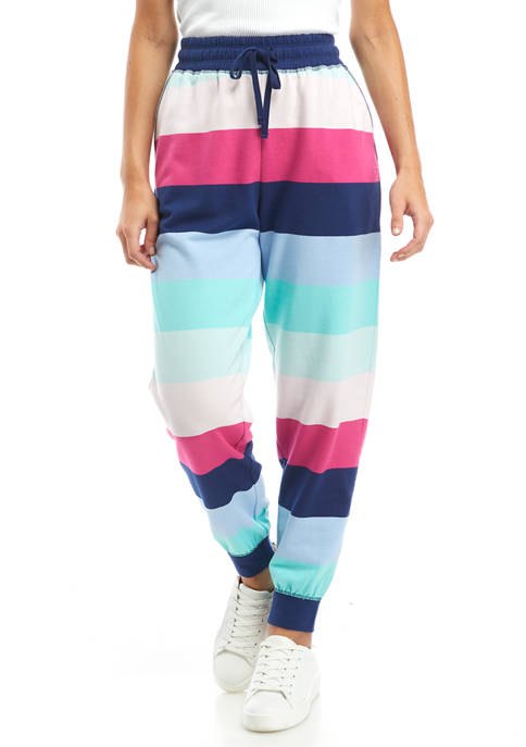 Cabana by Crown & Ivy™ Striped Joggers