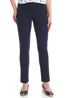 Crown & Ivy™ Pull On Bi Stretch Pant