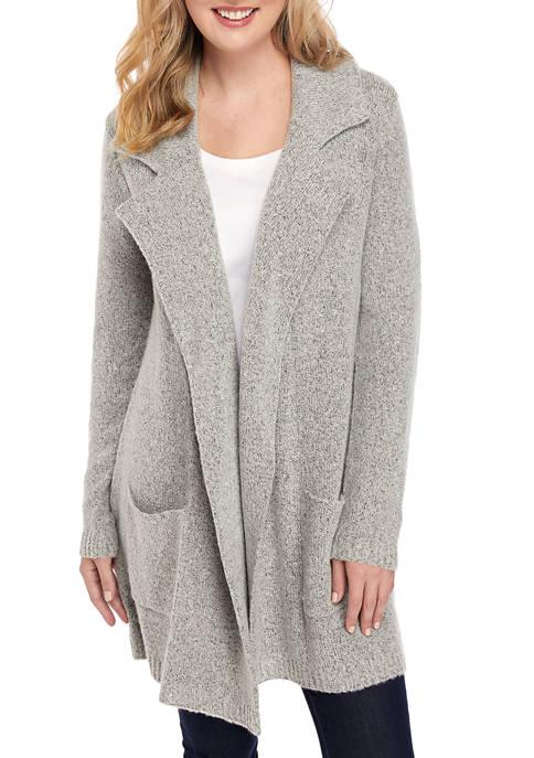 New Directions® Petite Long Sleeve Blazer Cardigan