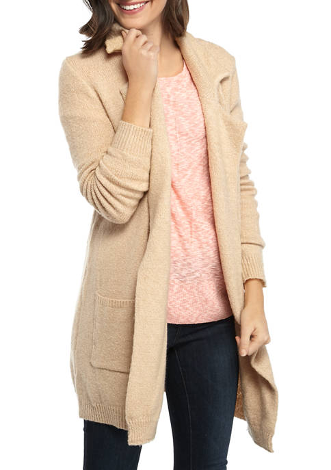 New Directions® Long Sleeve Blazer Cardigan