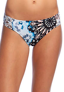 Kenneth Cole Across the Atlantic Sash Tab Swim Hipster Bottoms