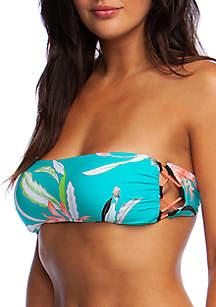 Shangra LA Molded Cup Bandeau Swim Top