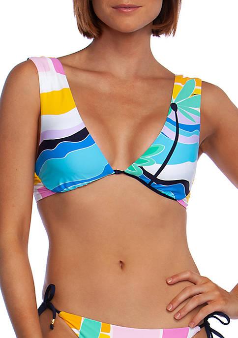 Mosaic Sunrise Underwire Swim Bikini Top