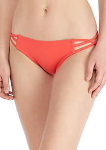 Strappy  Bikini Swim Bottom