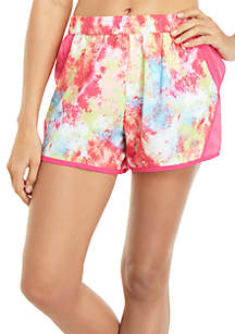 ZELOS Printed Woven Shorts