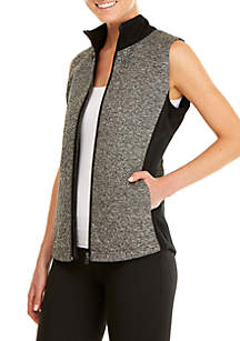 Ribbed Knit Vest