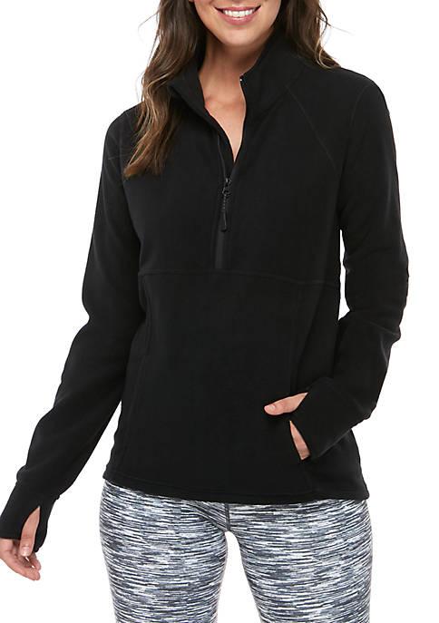 Microfleece Half Zip Jacket
