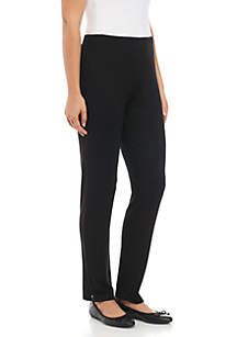 Pull-On Slim Leg Pants