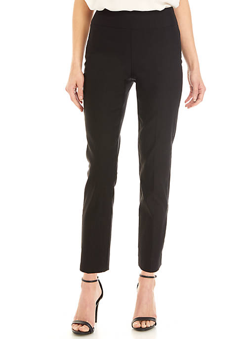 Joan Vass New York Skinny Ankle Pants