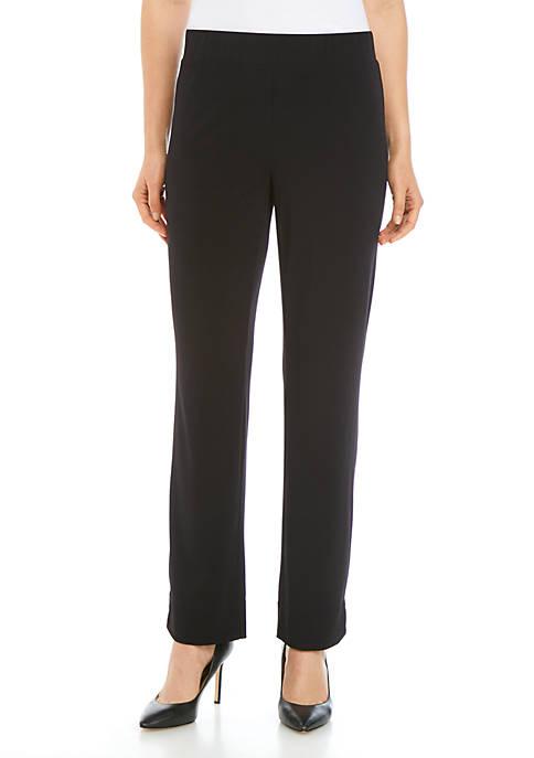 Joan Vass New York Crepe Pull On Pants