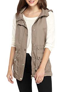 Anorak Vest with Hood