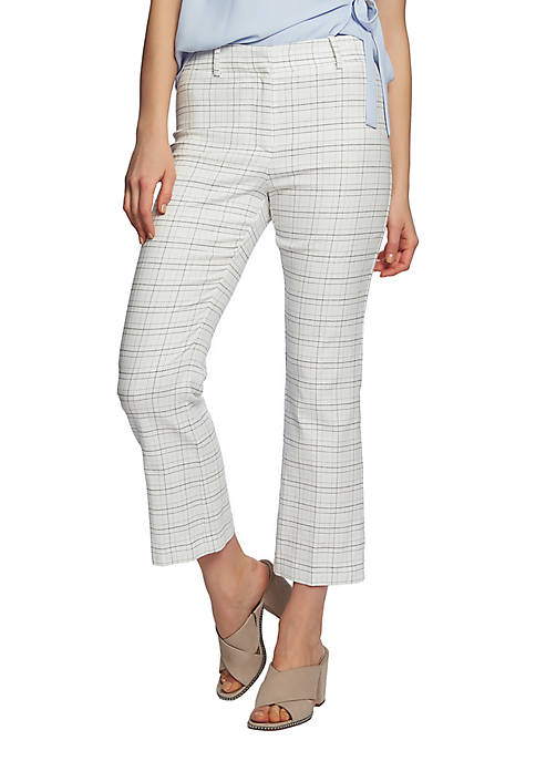 Windowpane Pants