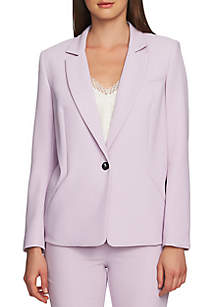 1. State 1-Button Fitted Blazer