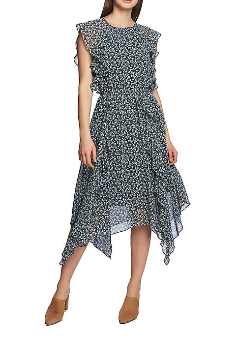 1. State Shark Bite Ruffle Dress