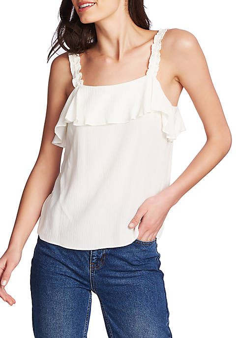 1. State Ruched Strap Camisole