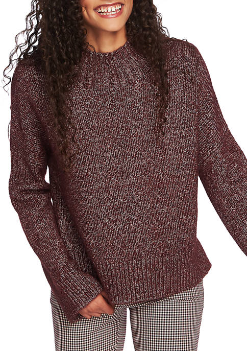 1. State Womens Mock Neck Sweater
