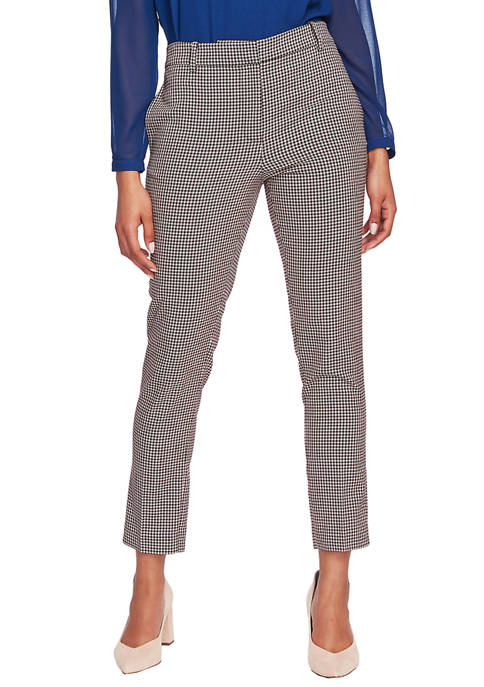 1. State Juniors Mini Houndstooth Print Pants