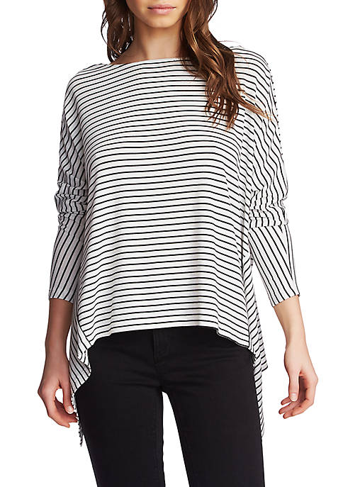 1. State Long Sleeve Knot Back Top