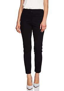 Zip Pocket Slim Pants