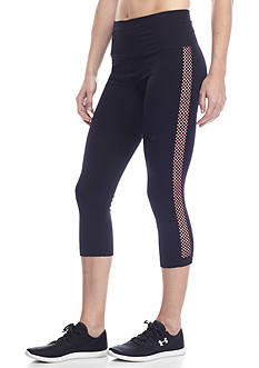 be inspired® Lattice Inset Capri Leggings