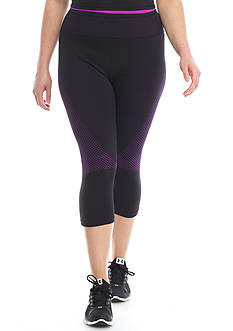 be inspired® Plus Size Seamless Capri