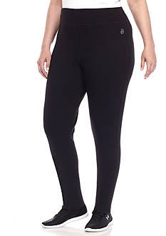 be inspired® Plus Size Cotton Leggings