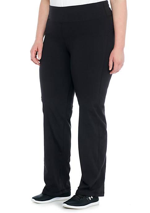 Plus Size Basic Pants