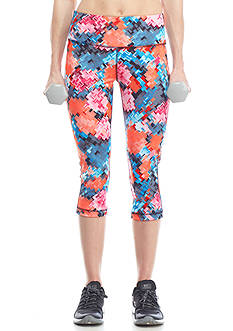be inspired® High-Waisted Printed Capri