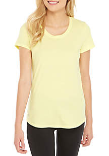 Performance Scoop Neck Top
