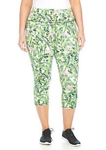 Plus Size Wrap Bank Pants