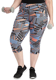 be inspired® Plus Size Core Performance Capri