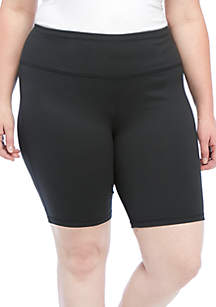 ZELOS Plus Size Core Bike Shorts