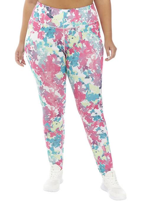 be inspired® Plus Size Printed Leggings