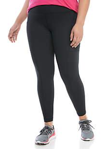 ZELOS Plus Size Utility Athletic Leggings