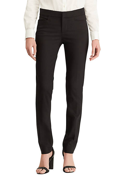 Chaps Double Knit Skinny Pants