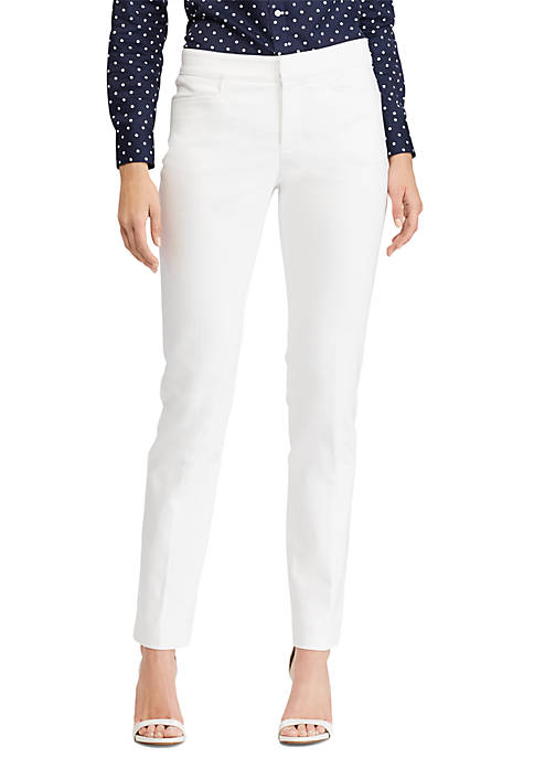 Chaps Double Knit Skinny Pant