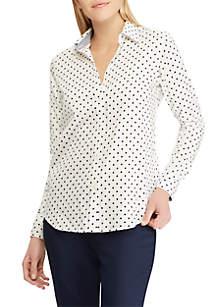 9bedb2674956b6 ... Chaps No Iron Cotton Sateen Button Down Shirt