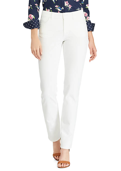 Four Way Stretch Straight Fit Pants