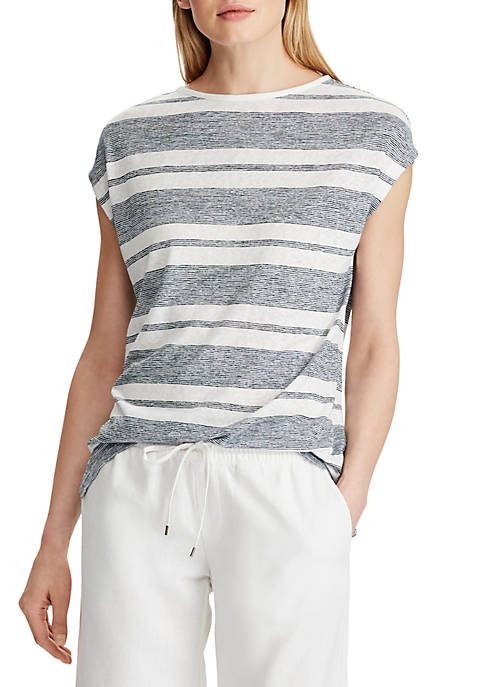Chaps Striped Jersey Tee
