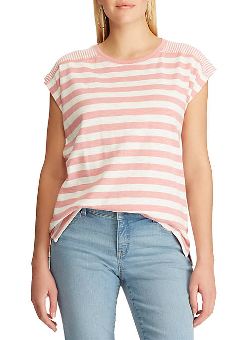 Slub Cotton Short Sleeve T Shirt