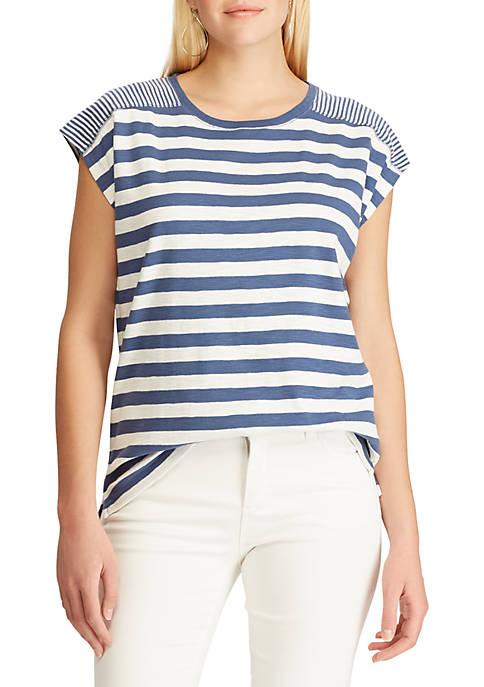 Chaps Slub Cotton Short Sleeve T Shirt
