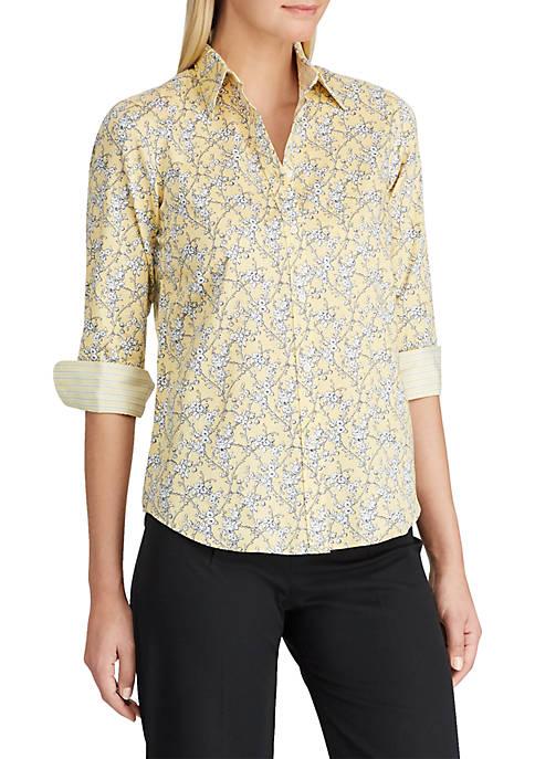 Chaps No-Iron Plaid Broadcloth Shirt