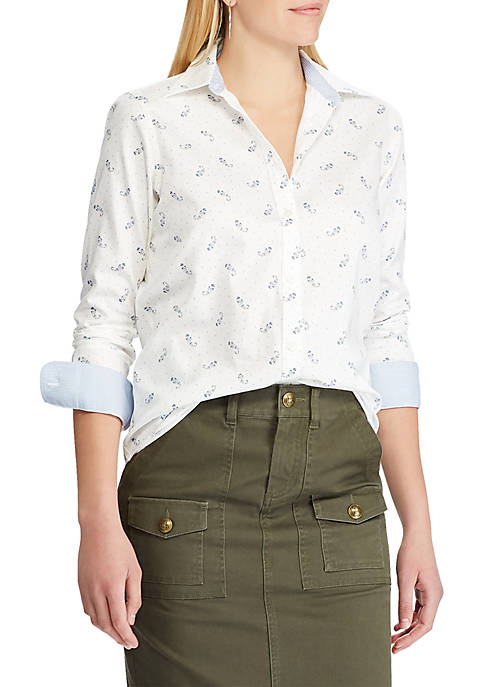 Chaps Womens Jamie Long Sleeve Non Iron Shirt