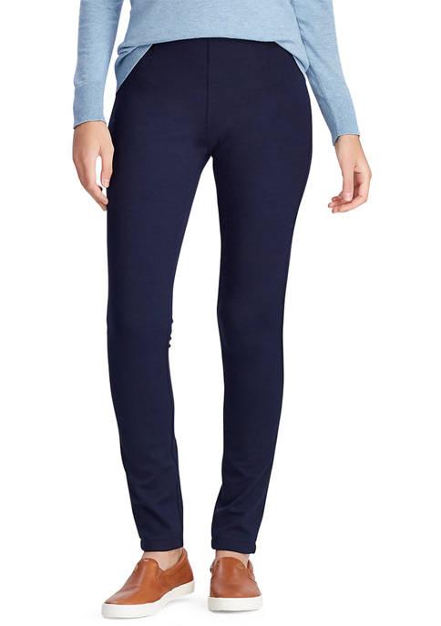 Chaps Womens Skinny Ponte Pants
