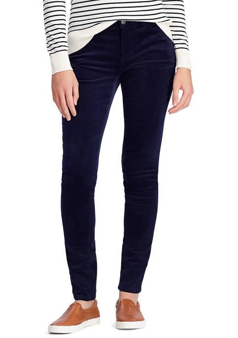 Womens Skinny Corduroy Jeans